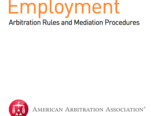AAA – Employment Arbitration Rules