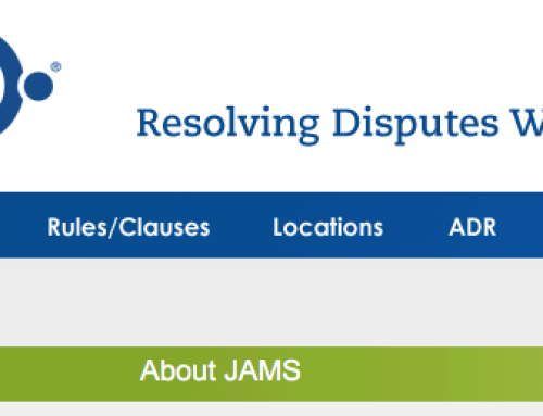 JAMS – Private Alternative Dispute Resolution